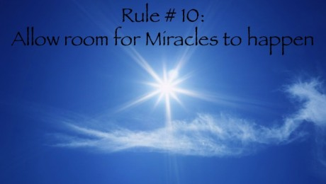 Rule # 10 | Allow Miracles to happen | Helen Brahms | super fantastic and sparkling